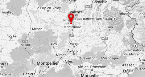 carte Camping le_merle_roux