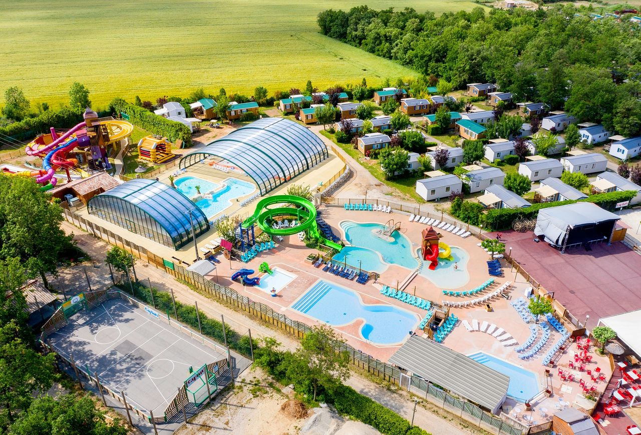 Le Grand Lierne, Camping Rhone Alpes - piscinas - Capfun