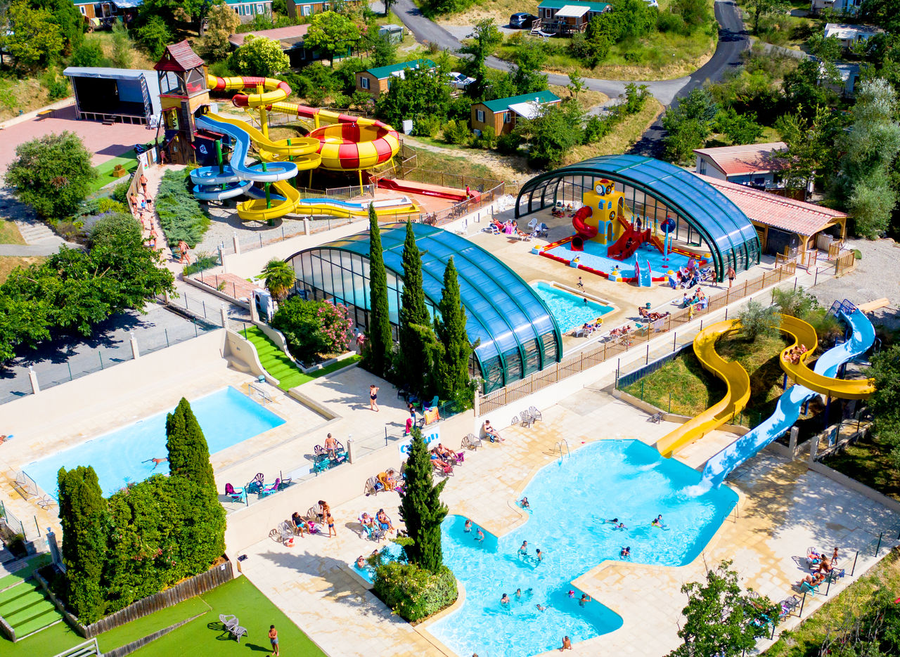 Le Merle Roux, Camping Rhone Alpes - vista general - Capfun