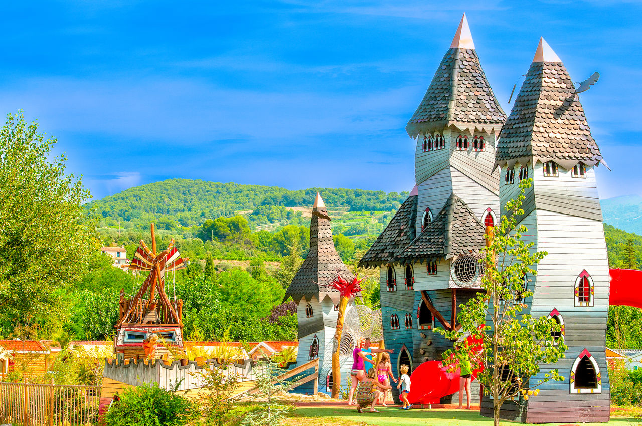 Le Sagittaire, Camping Rhone Alpes - Carabouille juego - Capfun