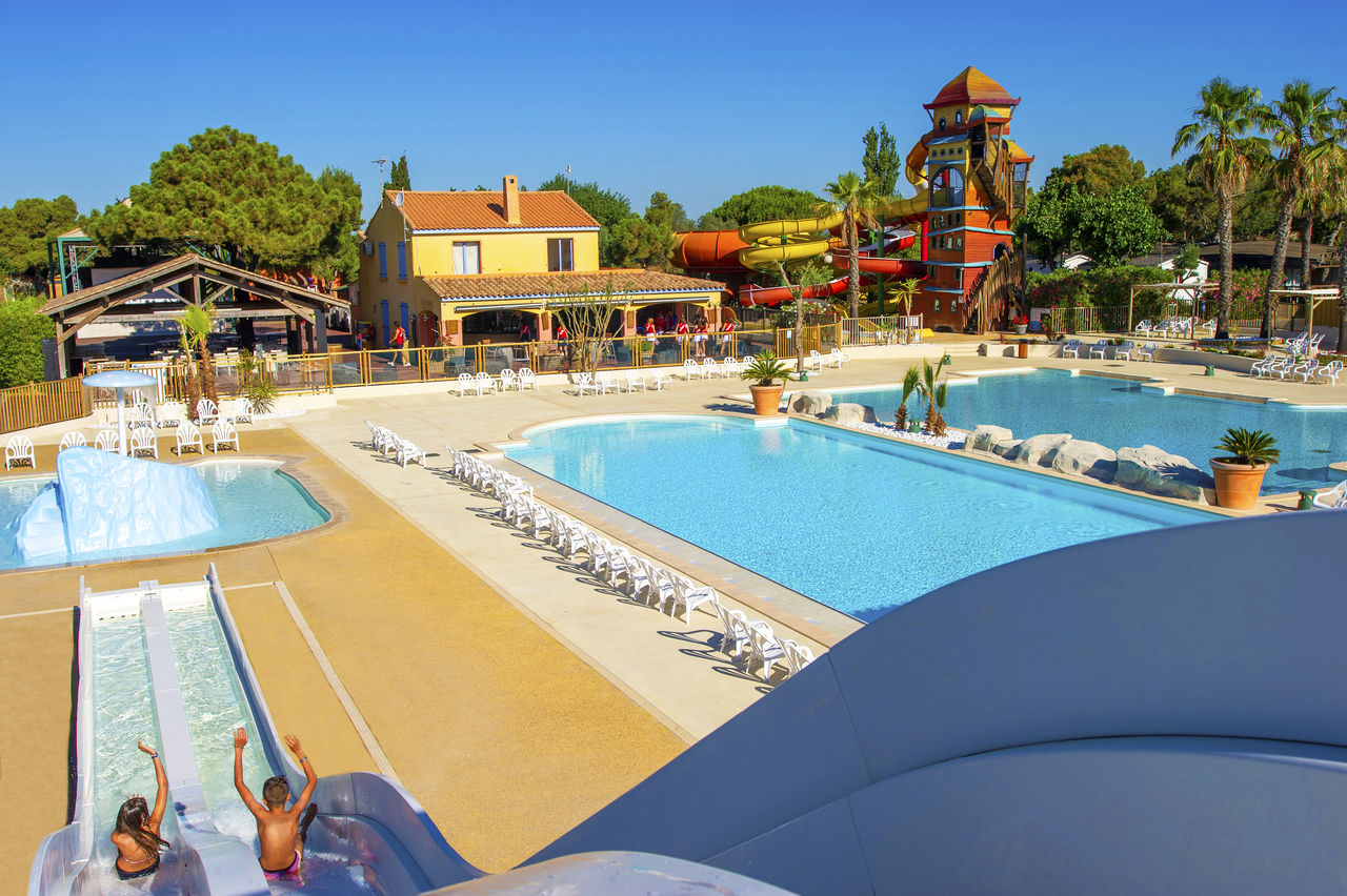 Les Vignes d'Or, Camping Languedoc Roussillon - piscinas - Capfun