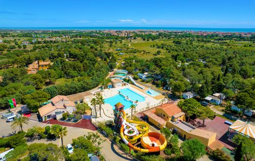 Camping Les Vignes d'Or, Camping Languedoc Roussillon - 1